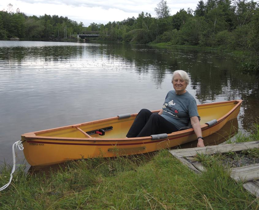 Congratulations to the Canoe Raffle Winner!